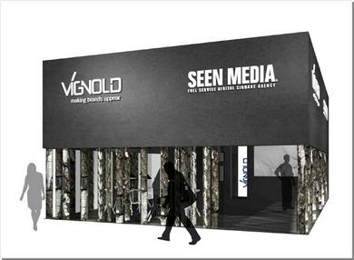 EuroShop-Messestand Vignold und SEEN MEDIA