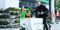 Foto: Amazon Prime Now Fahrradkurier; copright: Amazon