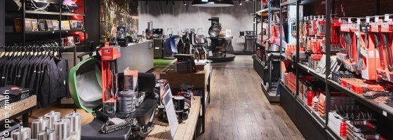 Foto: Weber Original Store in Berlin; copyright: ppm gmbh