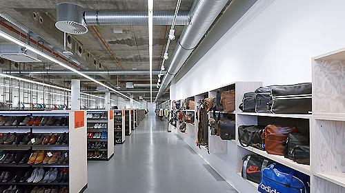 Zalando Outlet Store In Frankfurt Am Main Von 1100 Architect