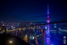 Foto: China bei Nacht; copyright: EHI Retail Institute