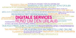 Grafik: Digitale Services im Urlaub; copyright: T-Systems