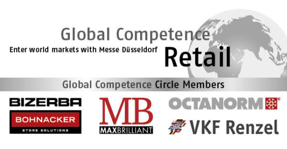 Banner Global Competence &Copyright Messe Düsseldorf