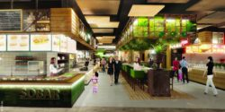 Bild: Food court; Copyright: mfi AG