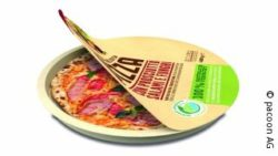 Bild: Pizzaverpackung von pacoon; Copyright: pacoon AG