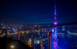 Foto: China bei Nacht, copyright: EHI Retail Institute