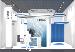 decor metall Messestand