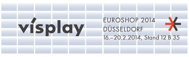 Visplay an der EuroShop 2014