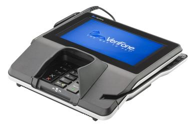 Multimedia-Terminal MX 925 von VeriFone