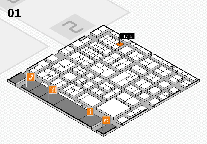 EuroShop 2017 hall map (Hall 1): stand F47-6