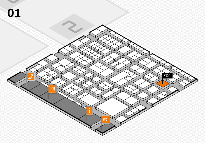 EuroShop 2017 hall map (Hall 1): stand F06