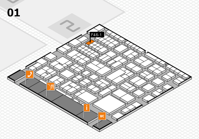 EuroShop 2017 hall map (Hall 1): stand F46-1