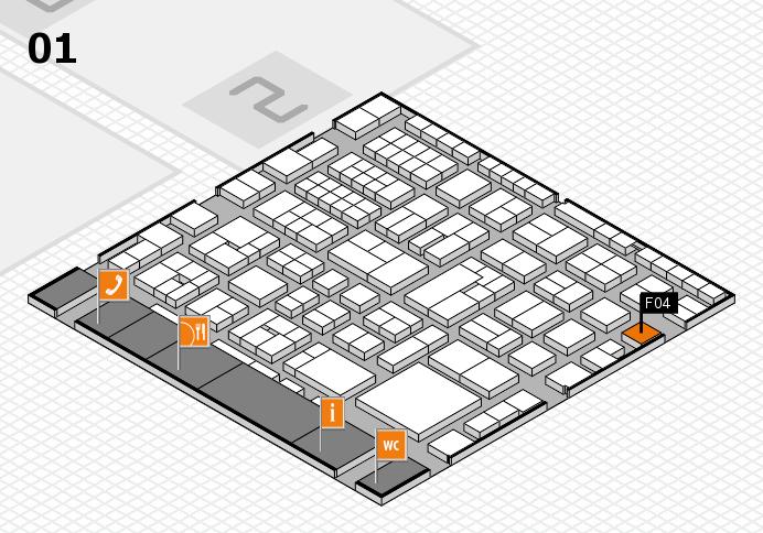 EuroShop 2017 hall map (Hall 1): stand F04