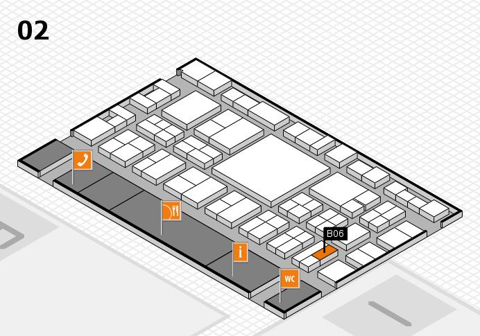 EuroShop 2017 hall map (Hall 2): stand B06