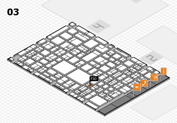 EuroShop 2017 hall map (Hall 3): stand F30
