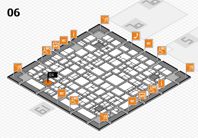 EuroShop 2017 hall map (Hall 3): stand G85