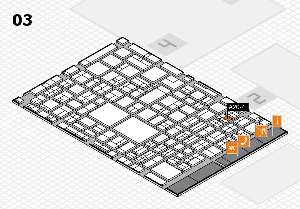 EuroShop 2017 hall map (Hall 3): stand A20-4