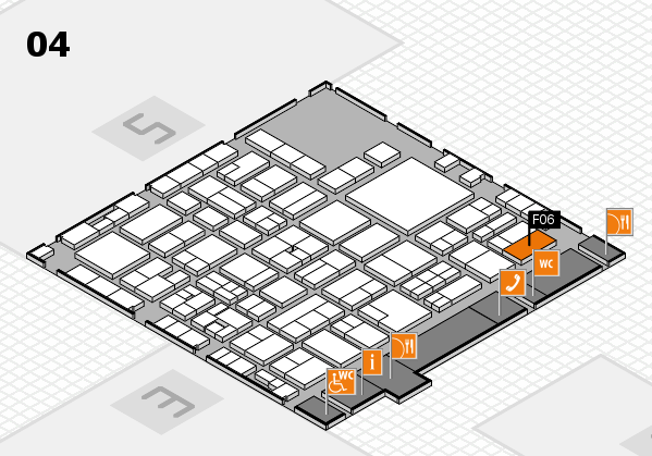 EuroShop 2017 hall map (Hall 4): stand F06