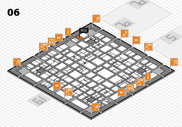 EuroShop 2017 hall map (Hall 6): stand B02