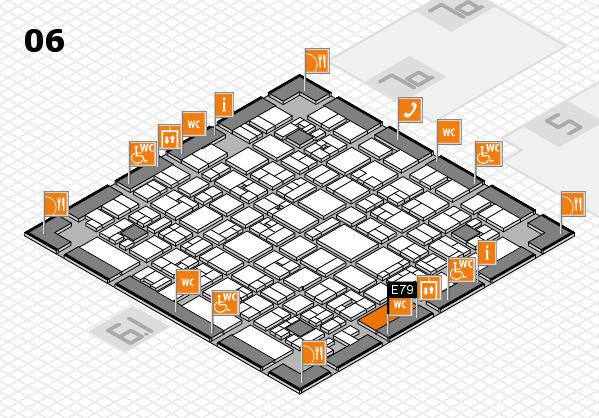 EuroShop 2017 hall map (Hall 6): stand E79