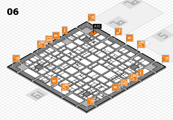 EuroShop 2017 hall map (Hall 6): stand A10