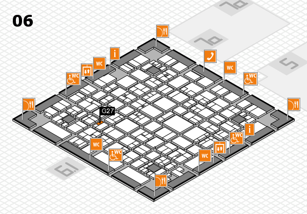 EuroShop 2017 hall map (Hall 6): stand G27