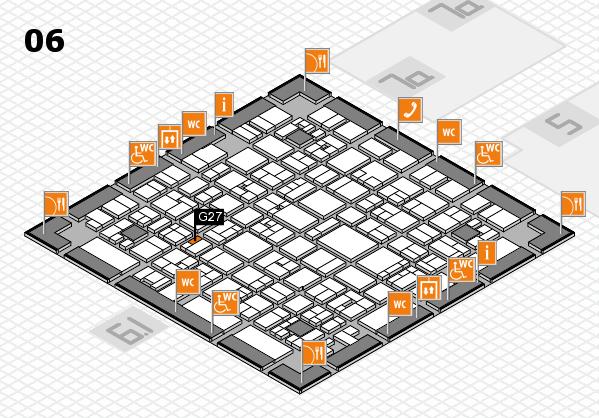 EuroShop 2017 hall map (Hall 6): stand G27