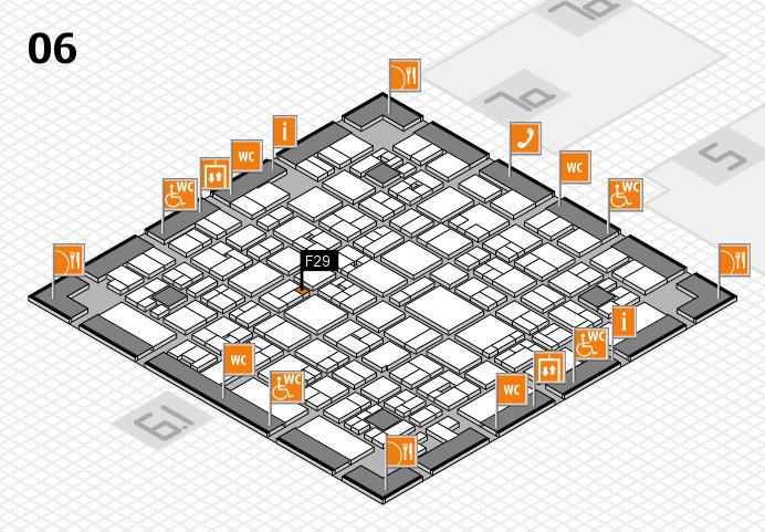 EuroShop 2017 hall map (Hall 6): stand F29