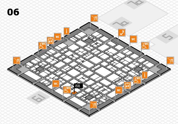 EuroShop 2017 hall map (Hall 6): stand I58