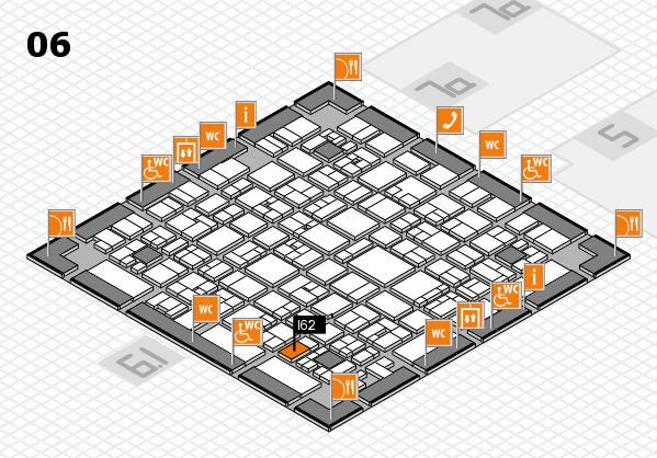 EuroShop 2017 hall map (Hall 6): stand I62