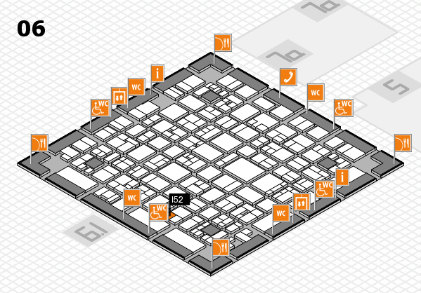 EuroShop 2017 hall map (Hall 6): stand I52