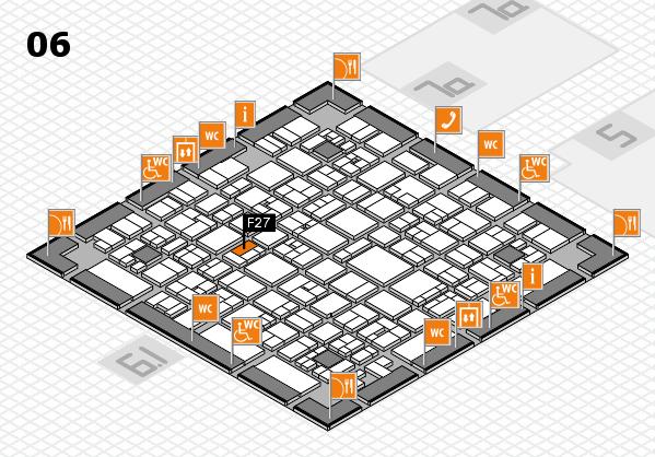 EuroShop 2017 hall map (Hall 6): stand F27