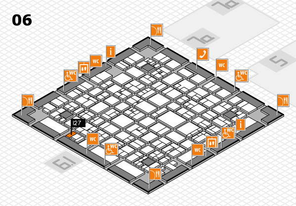 EuroShop 2017 hall map (Hall 6): stand I27