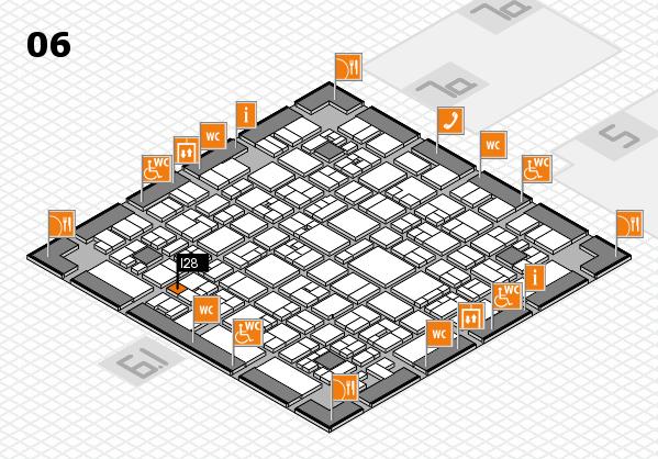 EuroShop 2017 hall map (Hall 6): stand I28