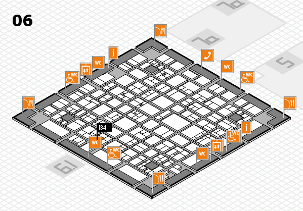 EuroShop 2017 hall map (Hall 6): stand I34