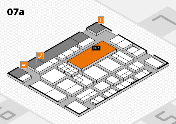 EuroShop 2017 hall map (Hall 7a): stand B07