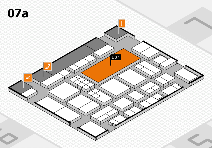 EuroShop 2017 hall map (Hall 7a): stand B07