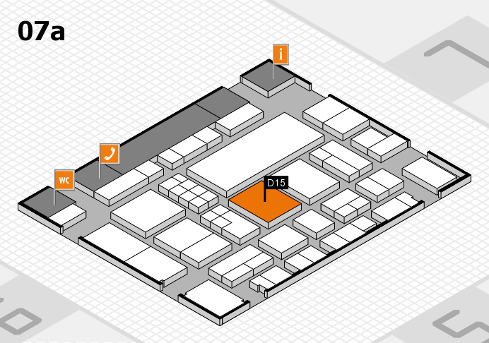 EuroShop 2017 hall map (Hall 7a): stand D15