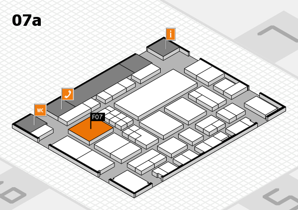 EuroShop 2017 hall map (Hall 7a): stand F07