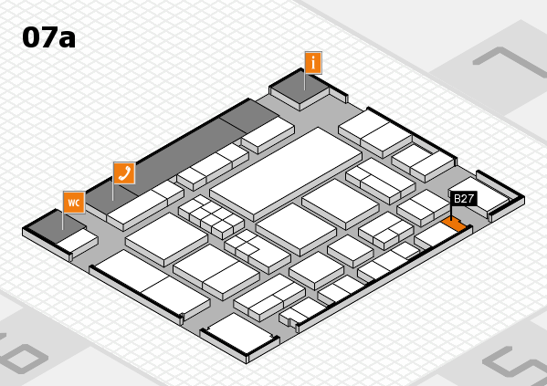 EuroShop 2017 hall map (Hall 7a): stand B27
