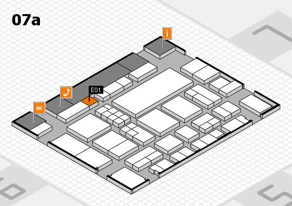 EuroShop 2017 hall map (Hall 7a): stand E01