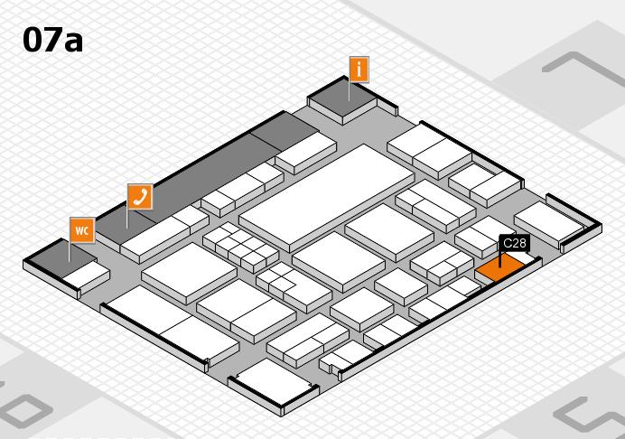 EuroShop 2017 Hallenplan (Halle 7a): Stand C28