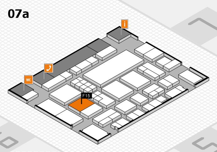 EuroShop 2017 Hallenplan (Halle 7a): Stand F15