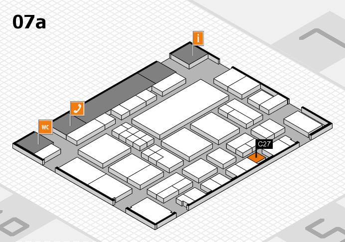 EuroShop 2017 hall map (Hall 7a): stand C27