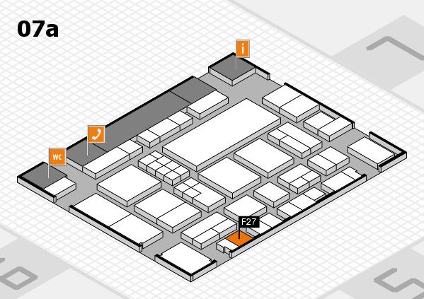 EuroShop 2017 hall map (Hall 7a): stand F27