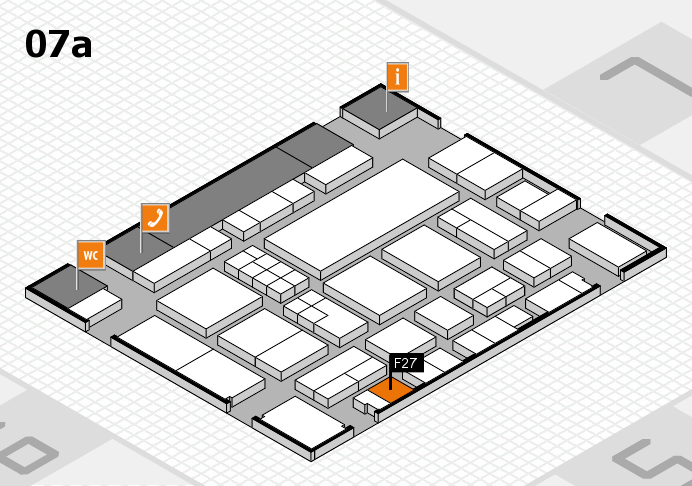 EuroShop 2017 hall map (Hall 7a): stand F27