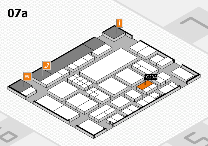 EuroShop 2017 Hallenplan (Halle 7a): Stand C23A