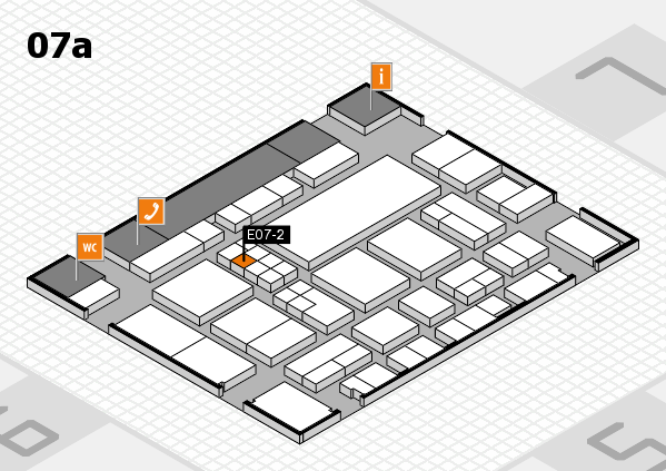 EuroShop 2017 hall map (Hall 7a): stand E07-2