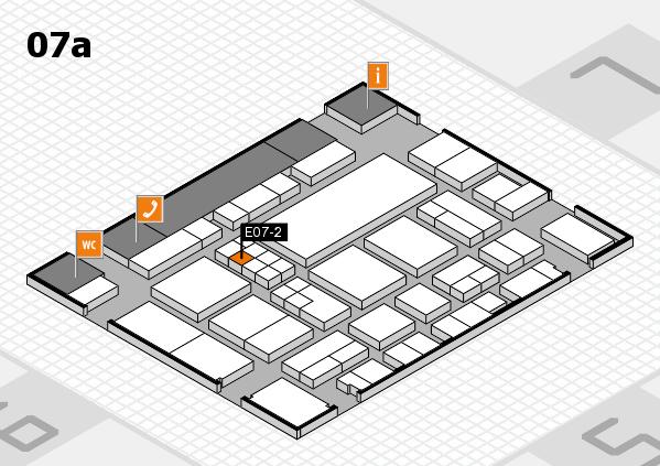 EuroShop 2017 hall map (Hall 7a): stand E07-2