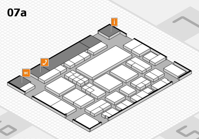 EuroShop 2017 hall map (Hall 7a): stand C23